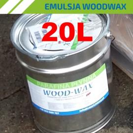 Emulsja WOOD-WAX przeciw  pękaniu drewna 20L